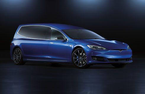 BINZ Tesla blue