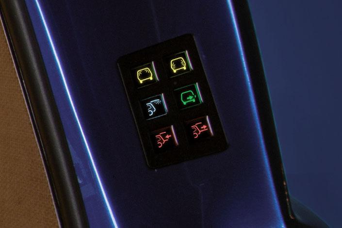 BINZ control panel