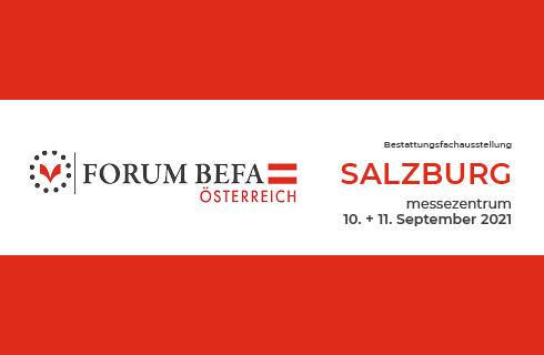 BINZ International Forum BEFA Ausstellung Österreich 2021
